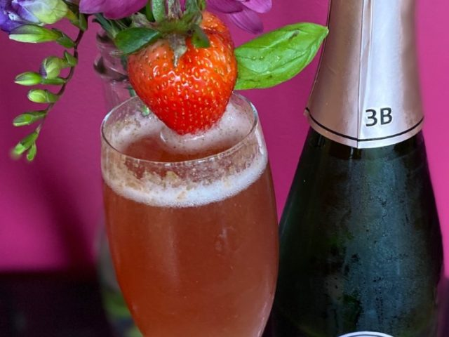 Strawberries, Basil, and Brunch, Oh My!